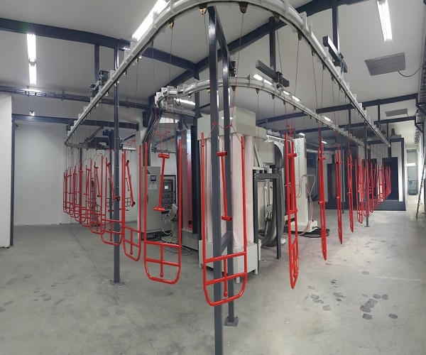 Powder Coating Line Automated Powder Coating Plant Plant